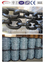 DIN 763 long link hot dip galvanized chain for marine