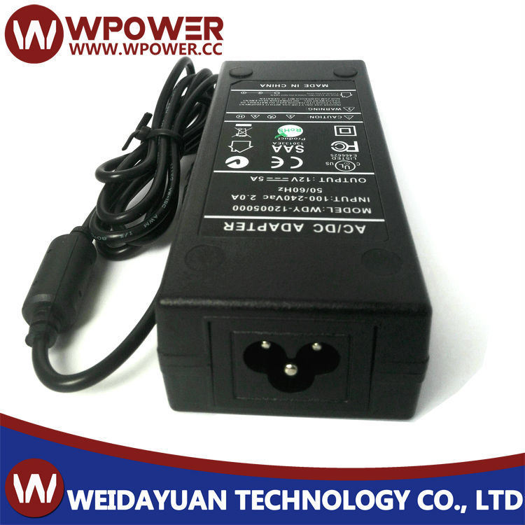 12V 5A office supply AC/DC ADAPTER 60W 12v 5a