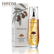 Hair High quality cosmetic argan oil for skin and hair contains vitamin E and F