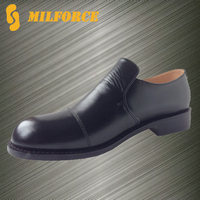 ISO stanard good quality leather police officer shoes