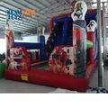 2018 Professional supplier giant inflatable spiderman jumping slide