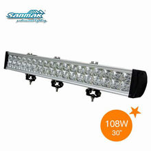 "30"" New-108W auto truck LED Spot light bar SM6023-108"