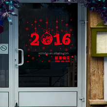 XH3219 happy new year sticker window decals for holidays