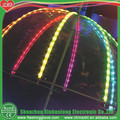 rainbow umbrella with stripe LED