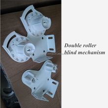 Double roller blind components of 38mm roller mechanism