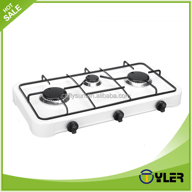 Table Top Gas Cooker 3 gas burner portable gas stove