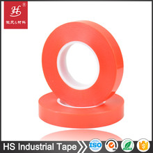Anti Tamper Proof Security VOID Adhesive Seal Red PET tape For Courier Bag Sealing