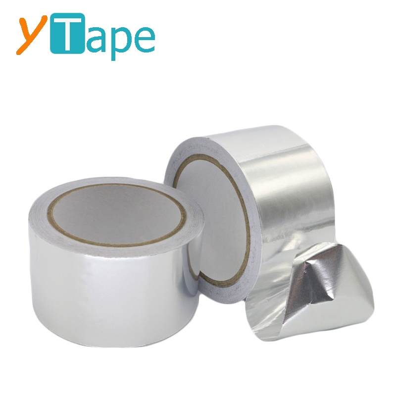 Self Wound Heat Resistance Aluminum Foil Tape for Air Ducts