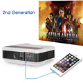 Hot selling wired screen mirroring projector video proyector home digital beamer made in china