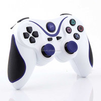 China OEM Dual Color Bluetooth Gamepad With Vibration Feedback For PS3/Slim Console