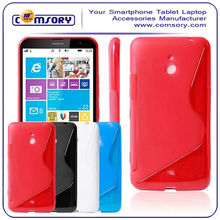 for Nokia Lumia 1320 S Series Flexible SLIM-Fit TPU Phone Case