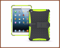 Excellent quality hot sale TPU PC 2-in-1with stand case for iPad mini 4