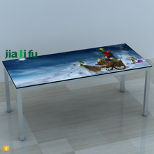 Promotional solid wood phenolic resin restaurant table tops