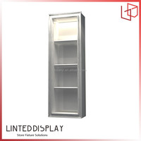 Various of kiosk display cases wall mounted