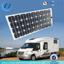 Sunpower 200W flexible solar panel with A grade solar cell for caravans golf cars boats yatch