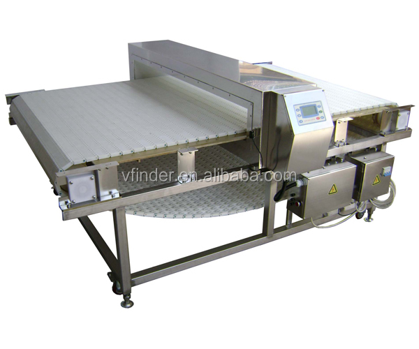 Food metal Testing use Super wide tunnel chain conveyor food metal detector