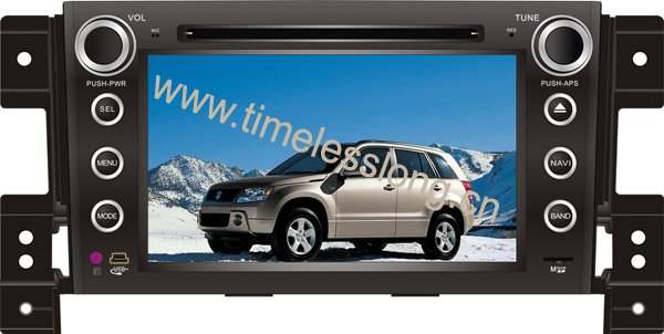 7 inch special car dvd player for SUZUKI GRAND VITARA with digital panel, dual zone, steering wheel control