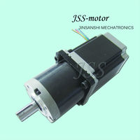 2 phase nema23 stepper motor with dc gear head, planetary gearbox for stepping motor