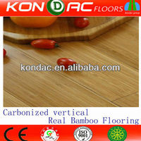 Top seller! Carbonized Vertical Full Click DIY Bamboo Flooring, Glue and Nail Free Flooring
