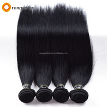 Best sale #1 jet black hair virgin unprocessed brazilian hair in china
