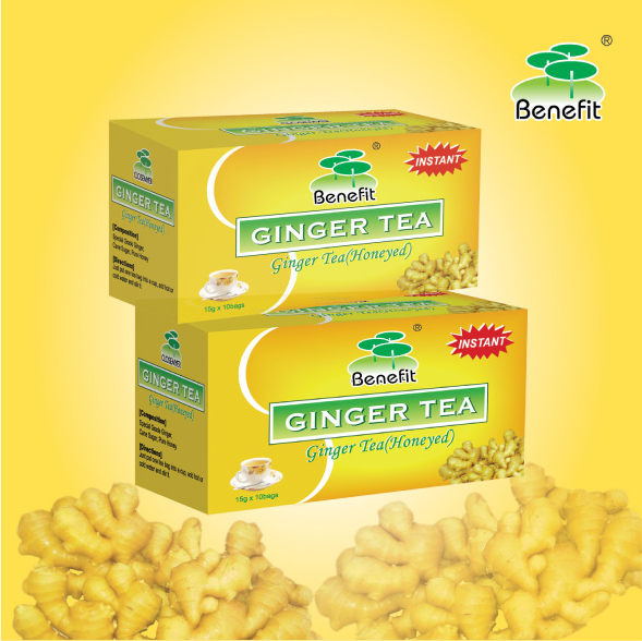Instant Ginger Tea With Different Flavour Made Of Ginger Extract Natural