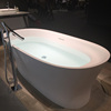 Portable Freestanding and Sitting Acrylic Solid Surface Bathtub