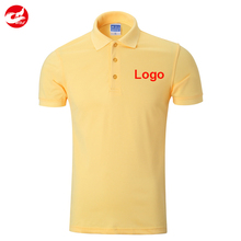 Summer short sleeve custom blank polo shirt with cotton/polyester blend oem embroidery