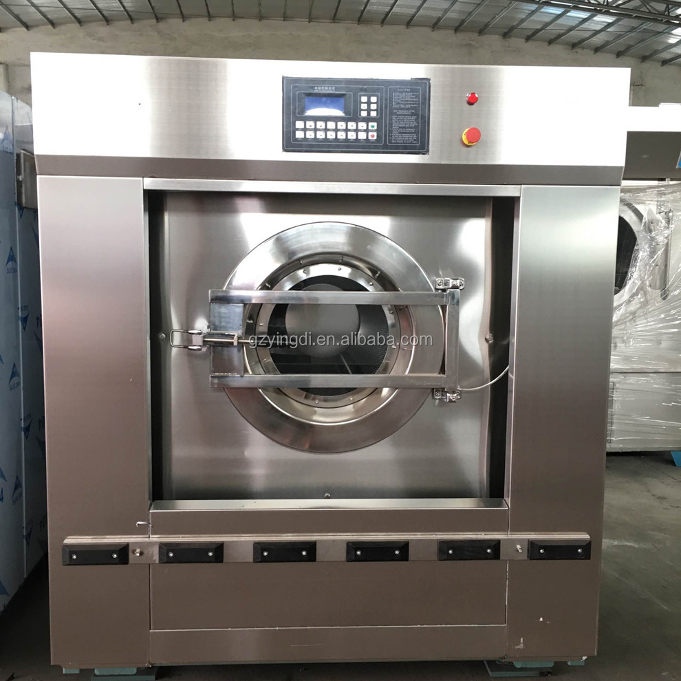 Good quality industrial front loading washer extractor blanket washing machine for sale