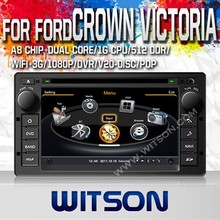 WITSON FOR FORD CROWN VICTORIA 2008-2012 CAR RADIO WITH 1.6GHZ FREQUENCY DVR SUPPORT RAM 8GB FLASH BLUETOOTH GPS WIFI