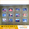 Double Side Acrylic Crystal Led Backlit Poster Light Box Frame For Real Estate Window Sign