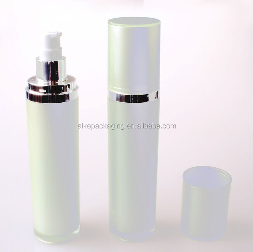 Aike Packaging Hot selling acrylic bottle cosmetic lotion bottle spray plastic material 60 ml bottle
