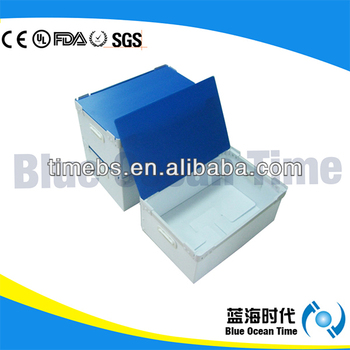 New material corrugated plastic file box