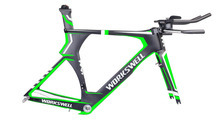 taiwan carbon triathlon bike frames TT frame