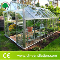 Hot Sale Galvanized Steel Frame uv resistant small greenhouse