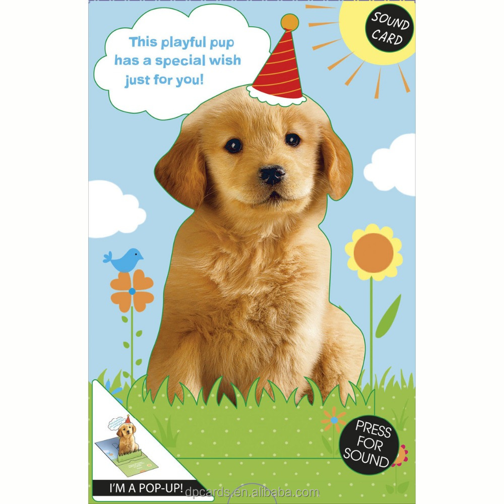 HOT selling voice recording greeting card recordable greeting card with Newest designs