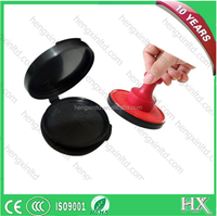 Fingerprint Stamp Pad ,Round Ink Pad for Election