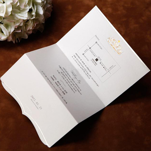Luxury Funny Cards Hot Sale Wedding Invitation Card