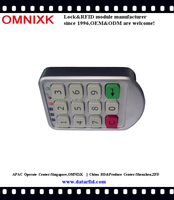 Spa cabinet password keypad digital locker lock PW206Z
