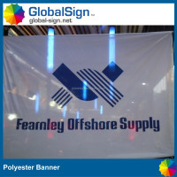 cheap printed fabric banner and signs