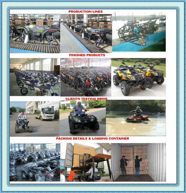 EEC 300cc Trike 3 Wheel ATV(MC-393)