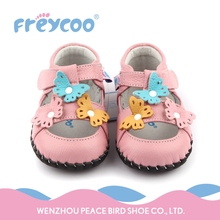 Cheap price custom lace infant footwear baby girl shoes