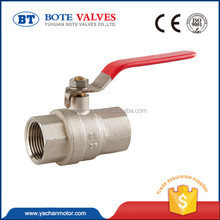 best seller brass ball valve with limit switch wog