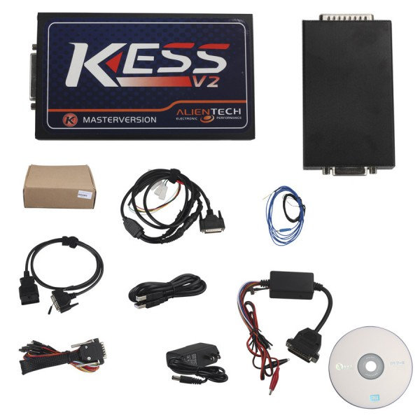 KESS V2 SW2.32 HW4.036 OBD2 Manager Tuning Kits No Tokens Limited Works Cars Add OBD Function KESS V2 2.32 K-Suite FREE SHIPPING