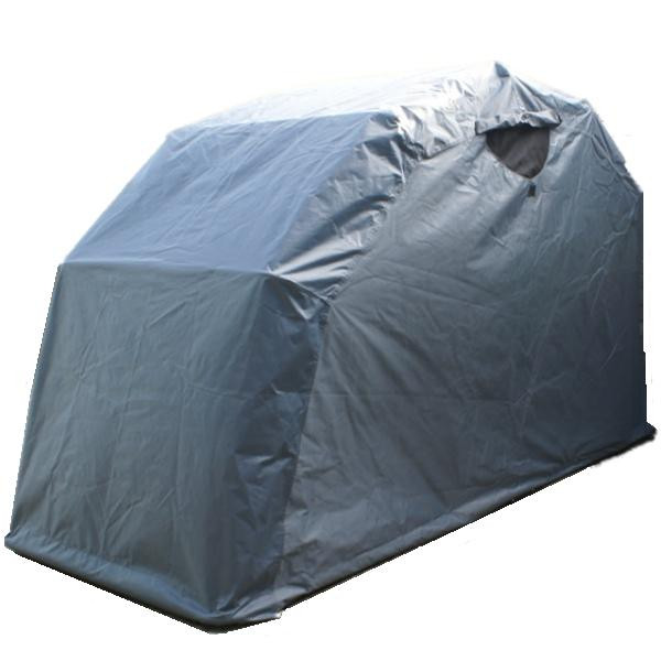 Aluminum Motorcycle Shelter : Outdoor bike garage covered packing shelter motorcycle
