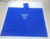 50X80'' adult blue pvc raincoat
