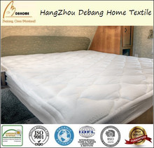 Soft Bamboo Overfilled Charcoal Mattress Pads Full Size