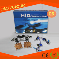 Good price wholesale 35w/55w/75w/100w 12v/24v Normal/slim ballast,single/hi/low beam bulbs xenon HID kit box