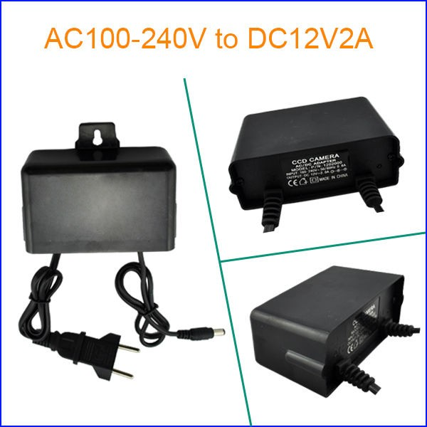 Modern&Switching 12V1A Power Supply for cctv camera, By best Manufacturer&Party Supplier,EU/US/AU/UK Plug ect