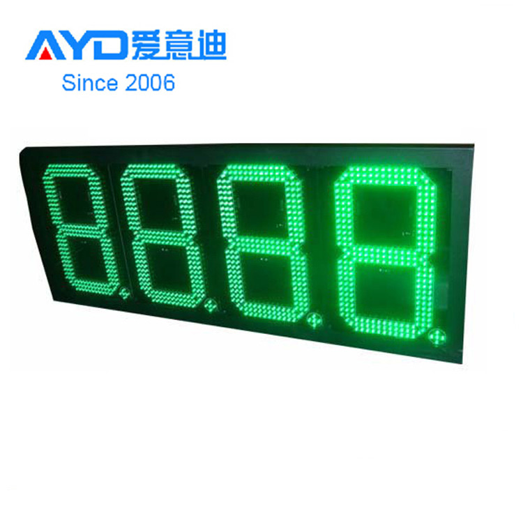 advertising digital gas station led price sign for sale