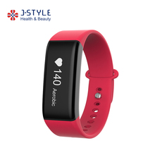 J-style Bluetooth Health Sport Watch Bracelet Digital Optical Heart Rate Pedometer With High Quality OLED Display